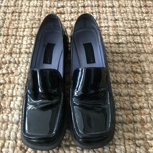 9 - Kenneth Cole - Black Patton Leather Loafers